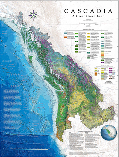 McCluskey Map of Cascadia 2015